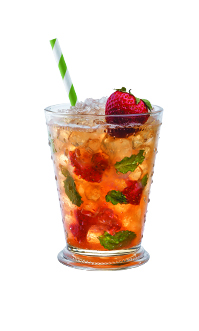 Makers mark cocktails muddled strawberry julep 199x331