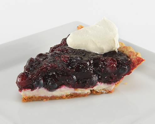 Blueberry bourbon cream cheese pie 494x396