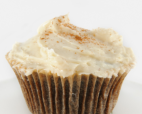 Makers mark cupcakes with cinnamon cream cheese frosting 494x396