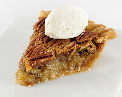 Makers mark double nut pecan pie 494x396