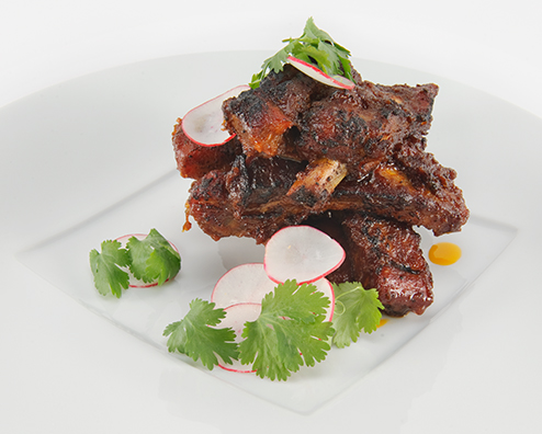 Makers mark bbq ribs 494x396