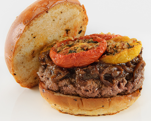 Makers mark kobe beef burger 494x396