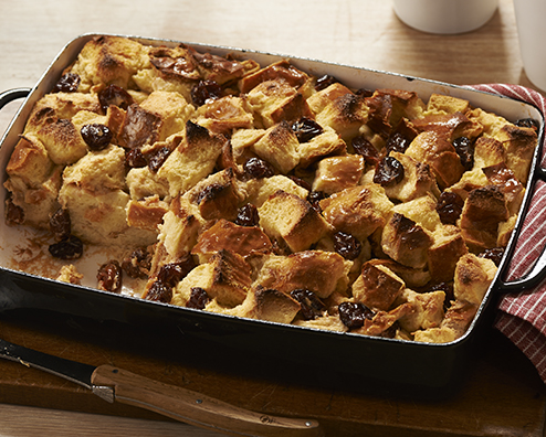 Makers mark manhattan bread pudding 494x396