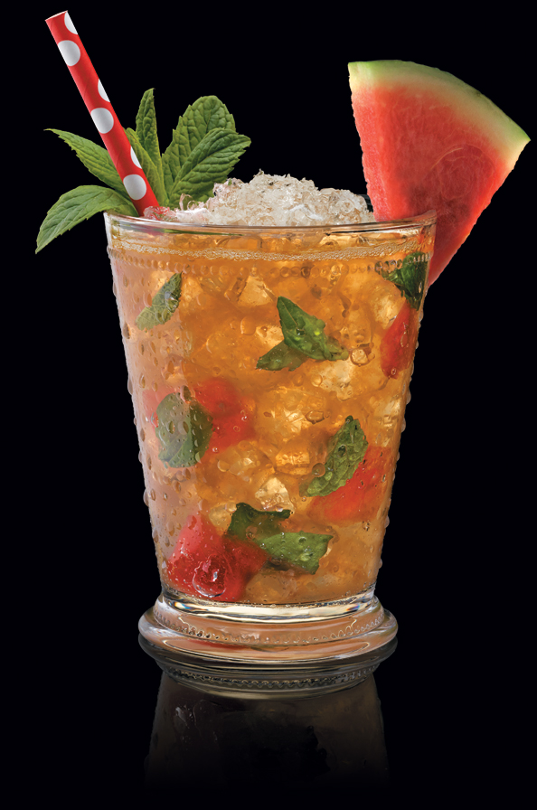 Watermelon Basil Julep