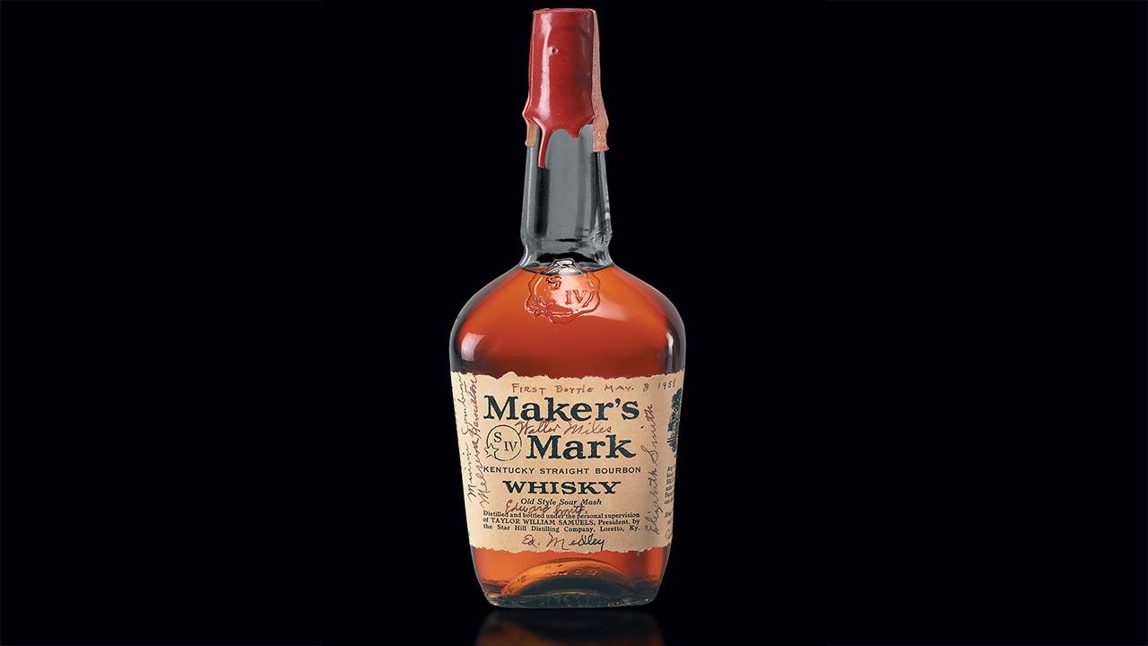 First Bottle Maker S Mark Kentucky Straight Bourbon